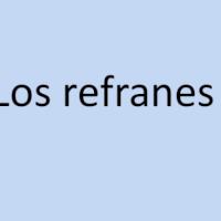 Foto de Relacionamos refranes