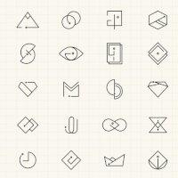 Foto de La atención con símbolos